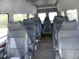 10 Seats Coach Interior