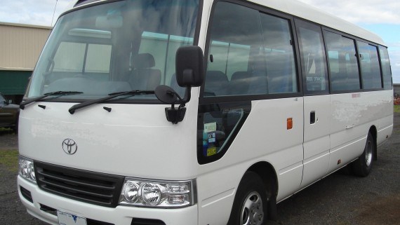 Toyota Coaster Mini Bus